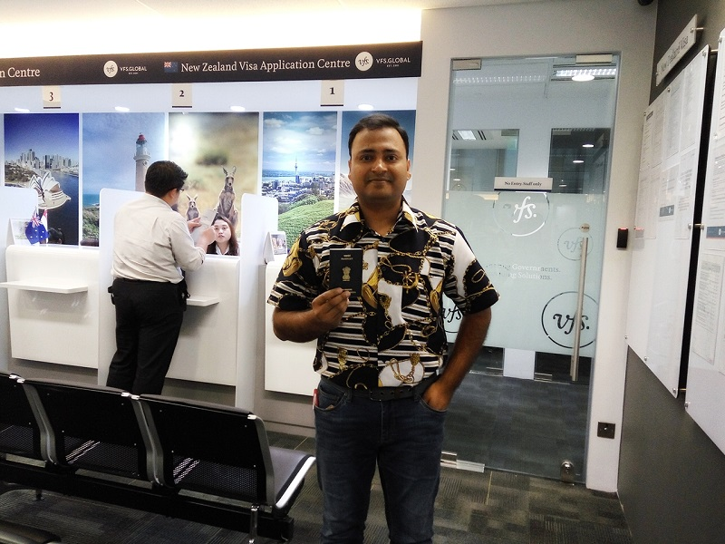 New Zealand Visa Application in Singapore - Part 1