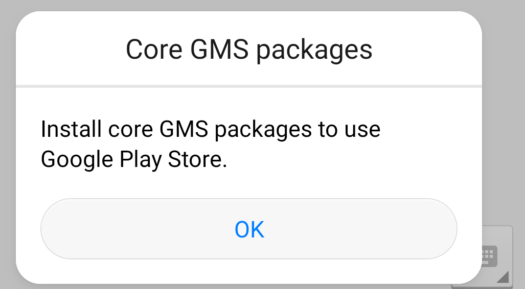Core GMS Package for Huawei Android Phones & Google Play Services